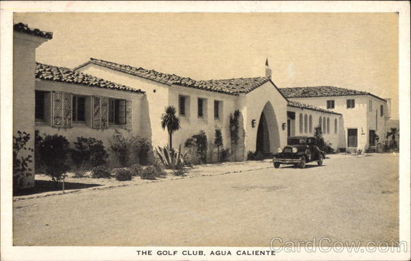 Hotel Agua Caliente - The Golf Club Tijuana Hot Springs Mexico
