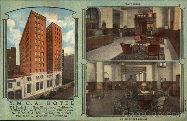 YMCA Hotel San Francisco California