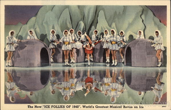 Ice Follies of 1940 San Francisco California