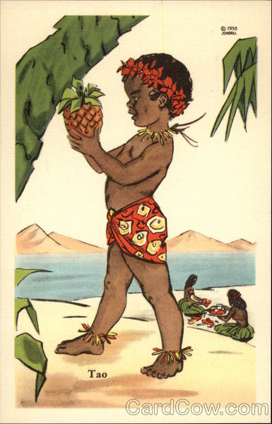 Young Pacific Islander Tao