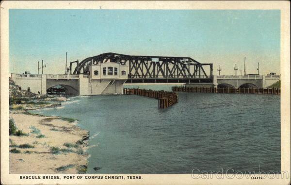 Bascule Bridge, Port of Corpus Christi Texas