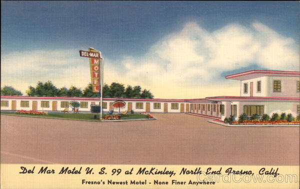 Del Mar Motel Fresno Ca