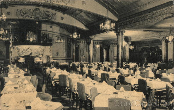 Part of Main Dining Room, Odenbach Restaurant Rochester New York