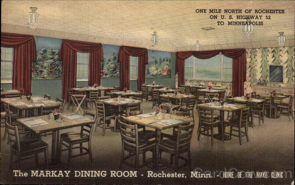 The Markay Dining Room Rochester Minnesota