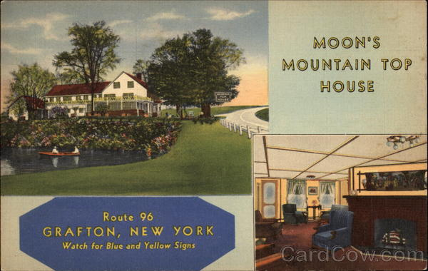 Moon's Mountain Top House Grafton New York