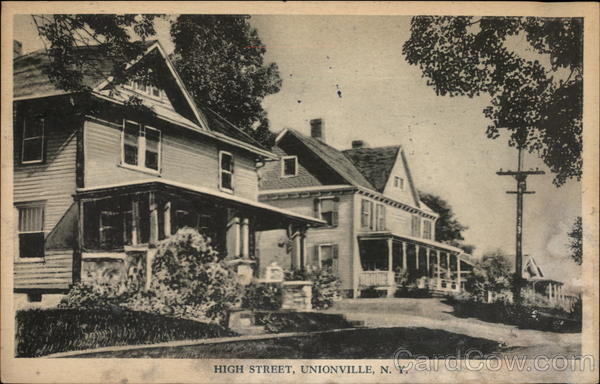 High Street Unionville New York