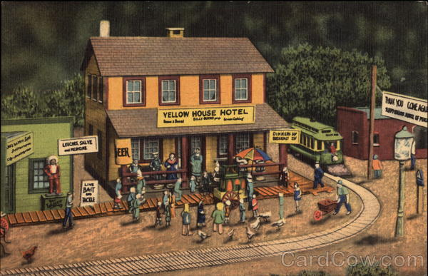 Roadside America, the World's Greatest Indoor Miniature Village Hamburg Pennsylvania
