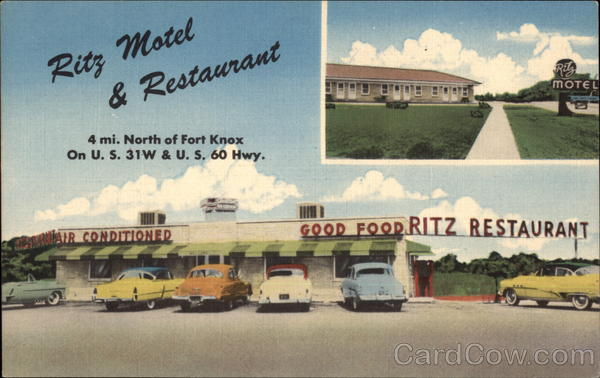 Ritz Motel & Restaurant Muldraugh Kentucky