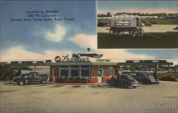 The Frontier Drive-In-Inc Arcadia California