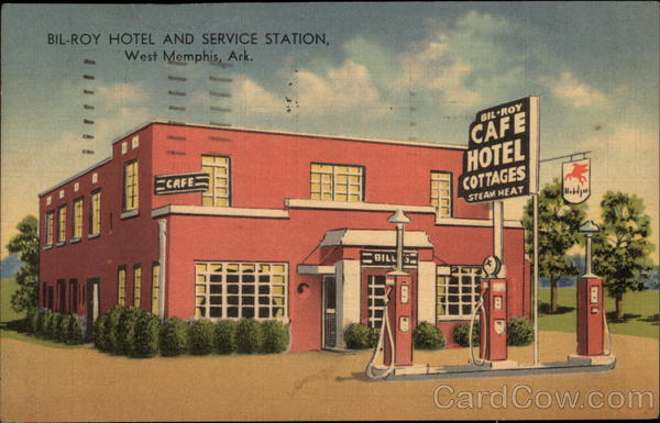 Bil-Roy Hotel and Service Station West Memphis Arkansas