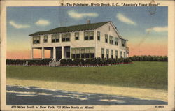 "The Poindexter, Myrtle Beach, ""America's Finest Strand"""