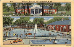 "Swimming Pool, city Park, ""Keeping Cool in the Pool"""