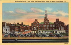 Providence County Court House and Rhode Island School of Design