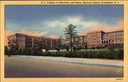 R. I. College of Education and Henry Barnard School
