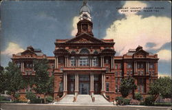 Tarrant County Court House Postcard