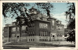 Macon Public School Postcard
