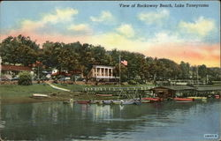 View of Rockaway Beach, Lake Taneycomo