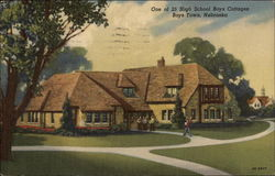 One of 25 High School Boys Cottages