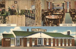 Howard's Cafe - View of Lobby, Dining Room & Front