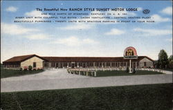 The Beautiful New Ranch Style Sunset Motor Lodge