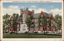 Administration Building, College of Emporia