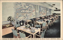 "Murals in Rike's Dining Room Depicting ""The Pageant of the Miami Valley"""