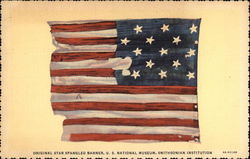 Original Star Spangled Banner, U.S. National Museum, Smithsonian Institution