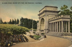 Band Stand, Golden Gate Park