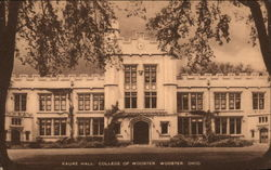 Kauke Hall, College of Wooster