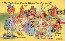 """The Whole Darn Family Wishes You Were Here!"""
