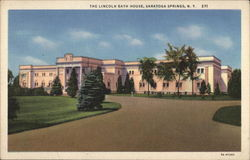 The Lincoln Bath House, Saratoga Spa