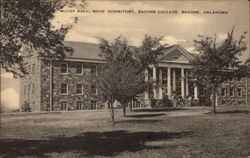 McCoy Hall, Boys' Dormitory, Bacone College