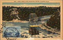 Aero Cable Over Whirlpool Rapids