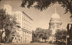 State Capitol Building, Madison, Wisconsin