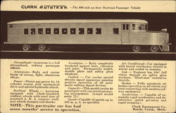 Clark Autotram - The 100 Mile an Hour Railroad Passenger Vehicle