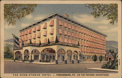 The Penn-Stroud Hotel, in the Pocono Mountains