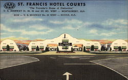"St. Francis Hotel Courts - ""The Traveler's Home of Distinction"""