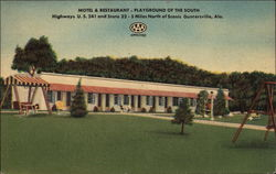 Play Ground of the South Postcard