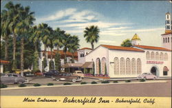 Bakersfield Inn - Main Entrance