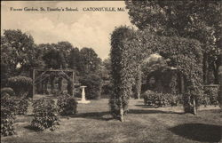 Flower Garden, St. Timothy's School