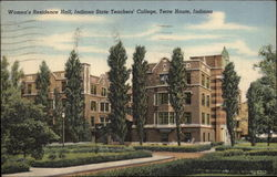 Women's Residence Hall, Indiana State Teachers' College