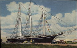 "The Schooner ""Lucy Evelyn"""