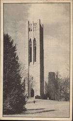 The tower of Clothier Memorial Swarthmore College