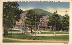 Tennis Courts and Inn, Silver Bay Association