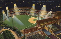 Forbes Field by Night