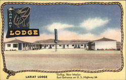Lariat Lodge, East Entrance on U.S. Highway 66