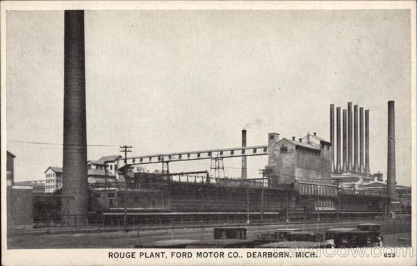 Rouge Plant, Ford Motor Co Dearborn Michigan