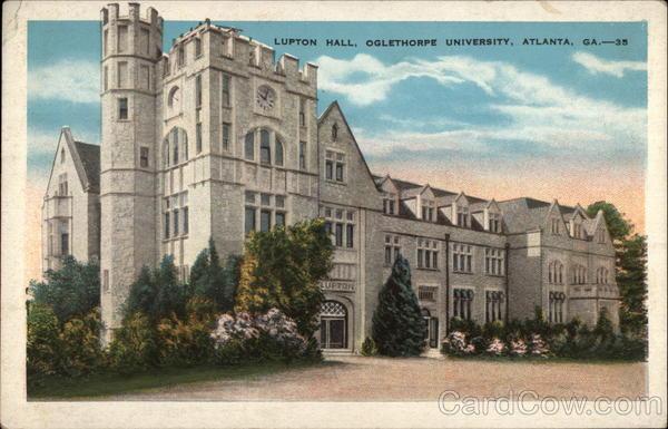 lufton hall oglethorpe university atlanta ga