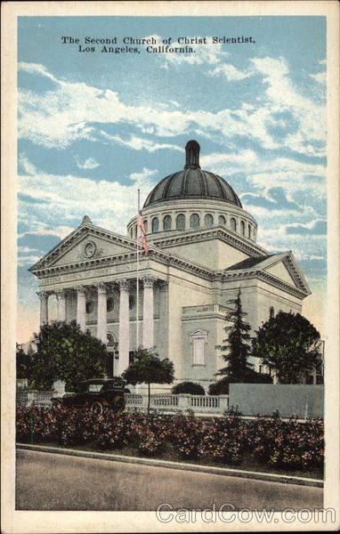The Second Church of Christ Scientist Los Angeles California