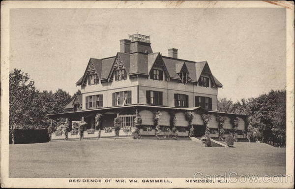 Residence of Mr. Wh. Gammell Newport Rhode Island